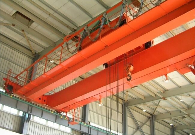 Application of inverter in double-beam bridge crane