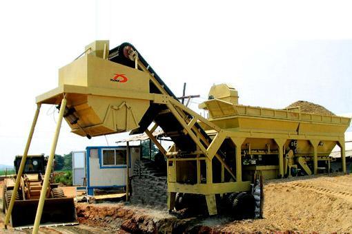 Application of special inverter for road foundation on stabilized soil mixing plant