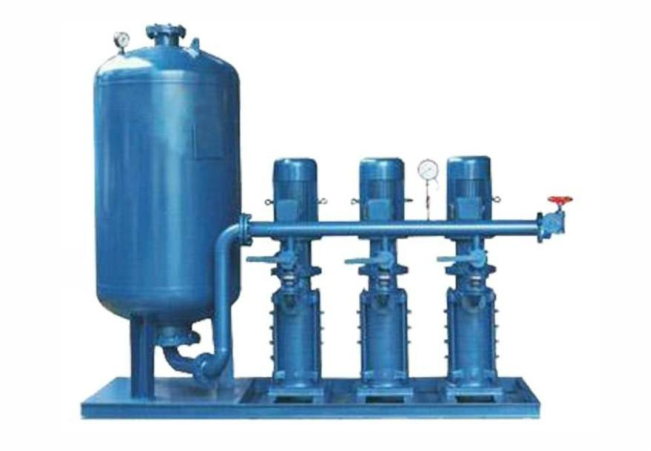Constant pressure water supply application program